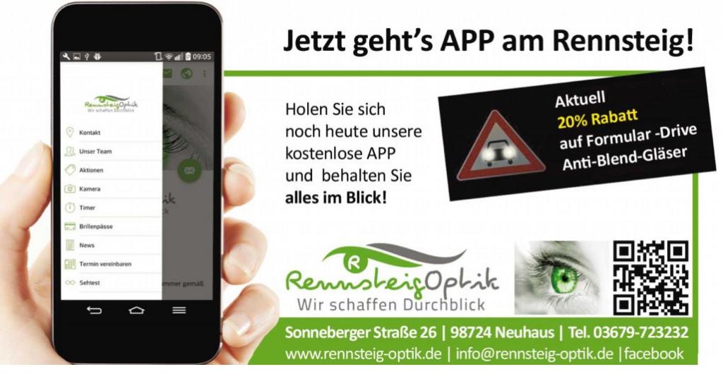 Aktuell App Rennsteig