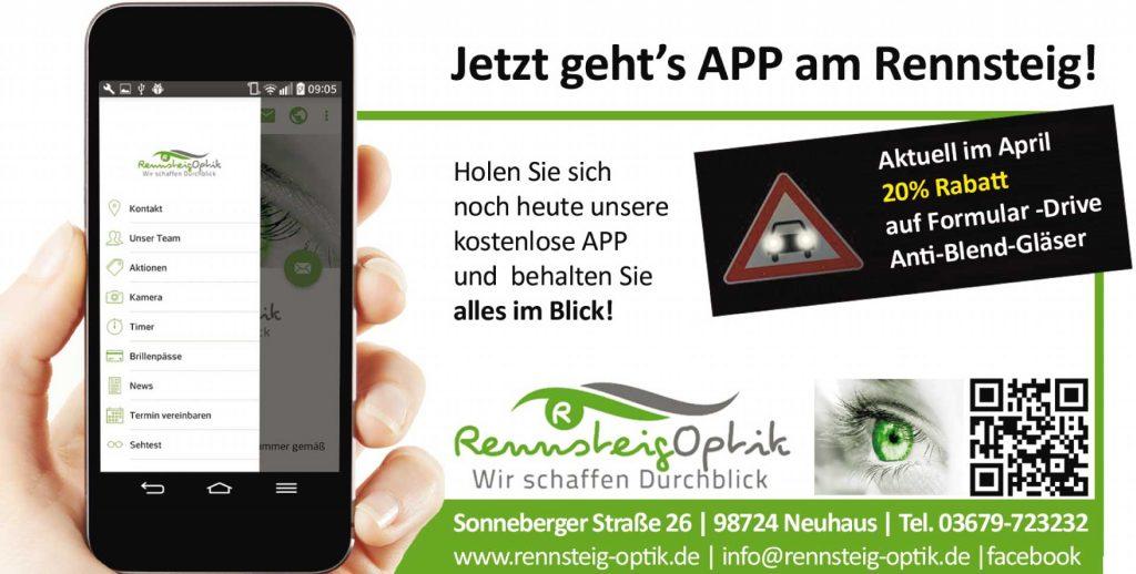 App-Rennsteig-Optik